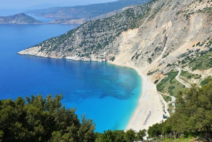 Beach in Kefalonia