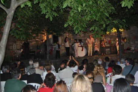 Summer festival in Pelion