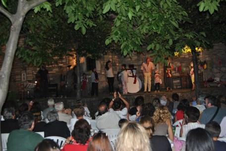 Summer festival in Pelion