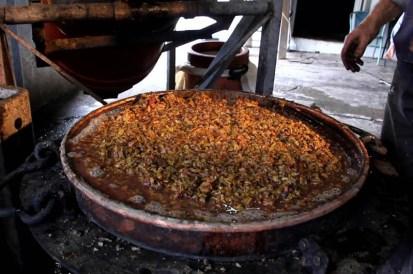 Grape marc for tsikoudia