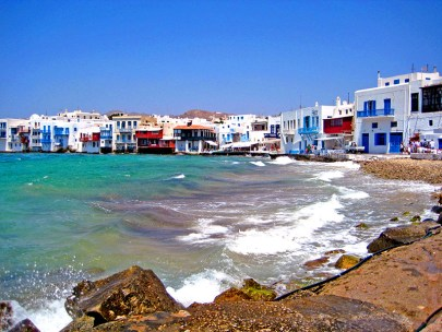 Mykonos town - Popular Greece destinations