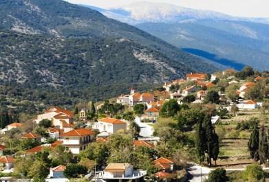 Pyrgi village Kefalonia