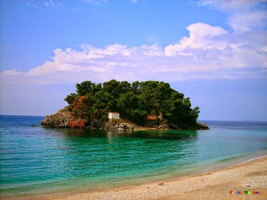 Virgin Mary island opposite Parga
