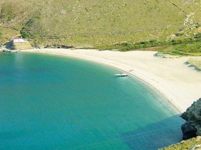 Ahla beach - Andros