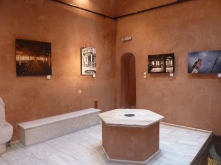 The hammam of winds operates as a museum