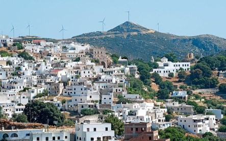The beautiful village of Apiranthos, Naxos