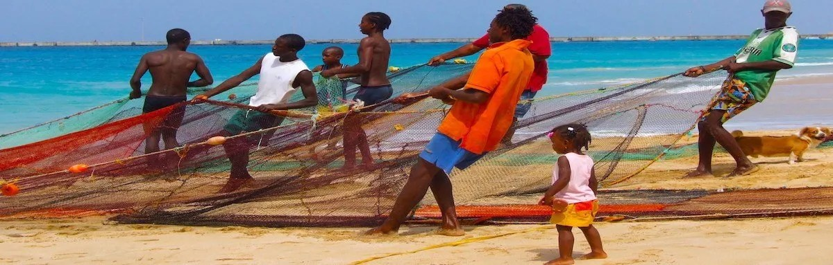Fishing in Maio Cape Verde