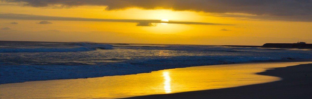 Ponta Preta Beach Maio Cape Verde
