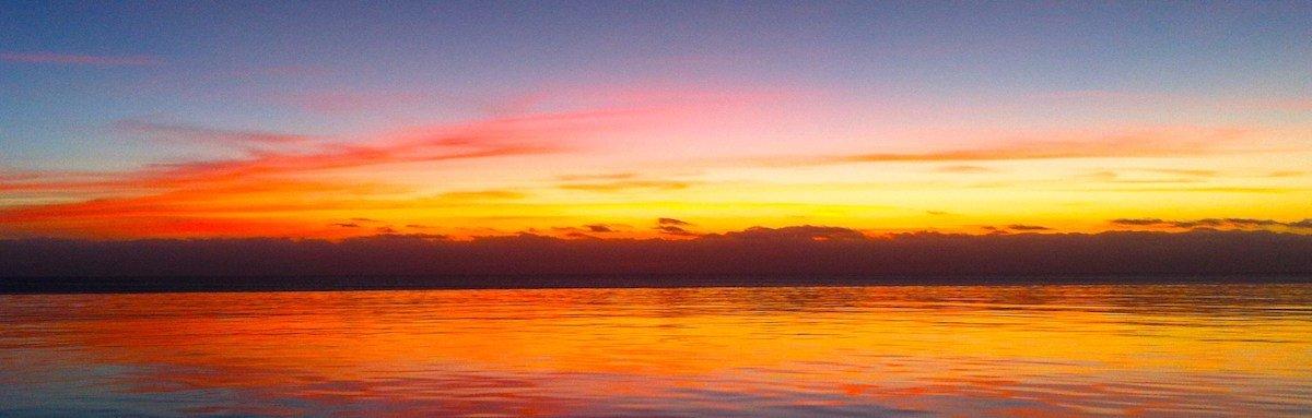 Sunset at Stella Maris Maio Cape Verde