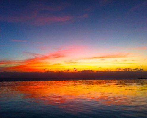 stella maris maio cape verde sunset