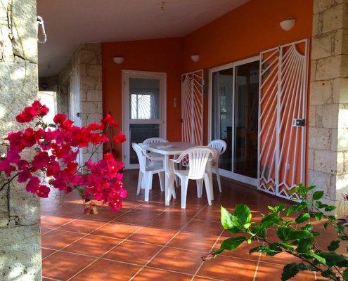 Stella Maris villa shade terrace