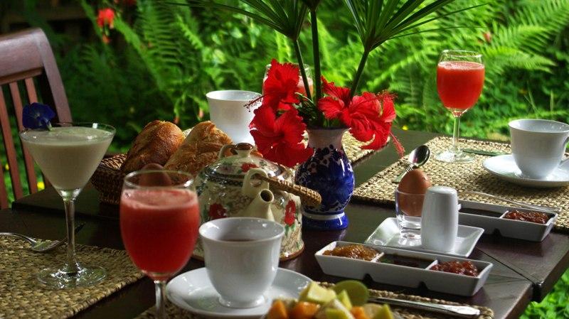 Breakfast, Restaurant - Villa Maydou Boutique Hotel, Luang Prabang