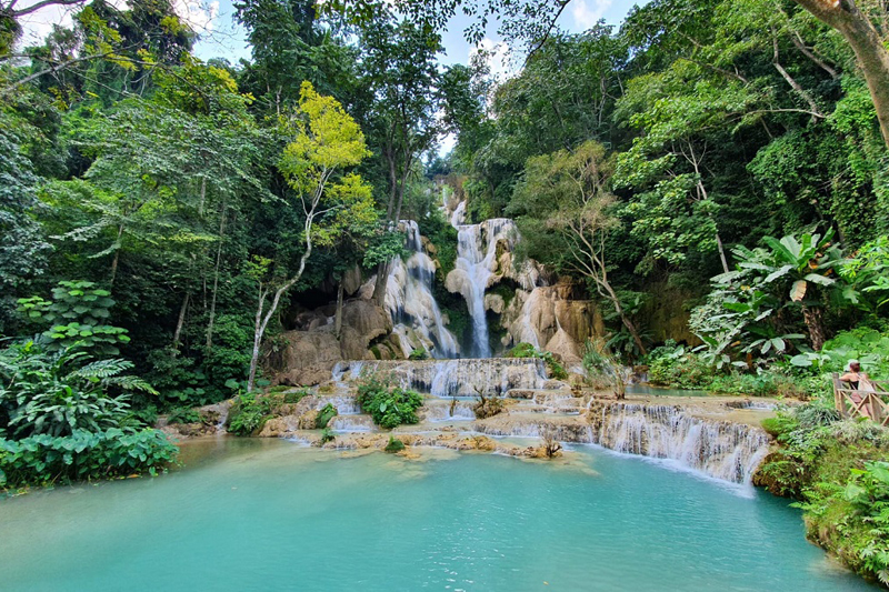 Must-see of Luang Prabang - KuangSi Waterfalls