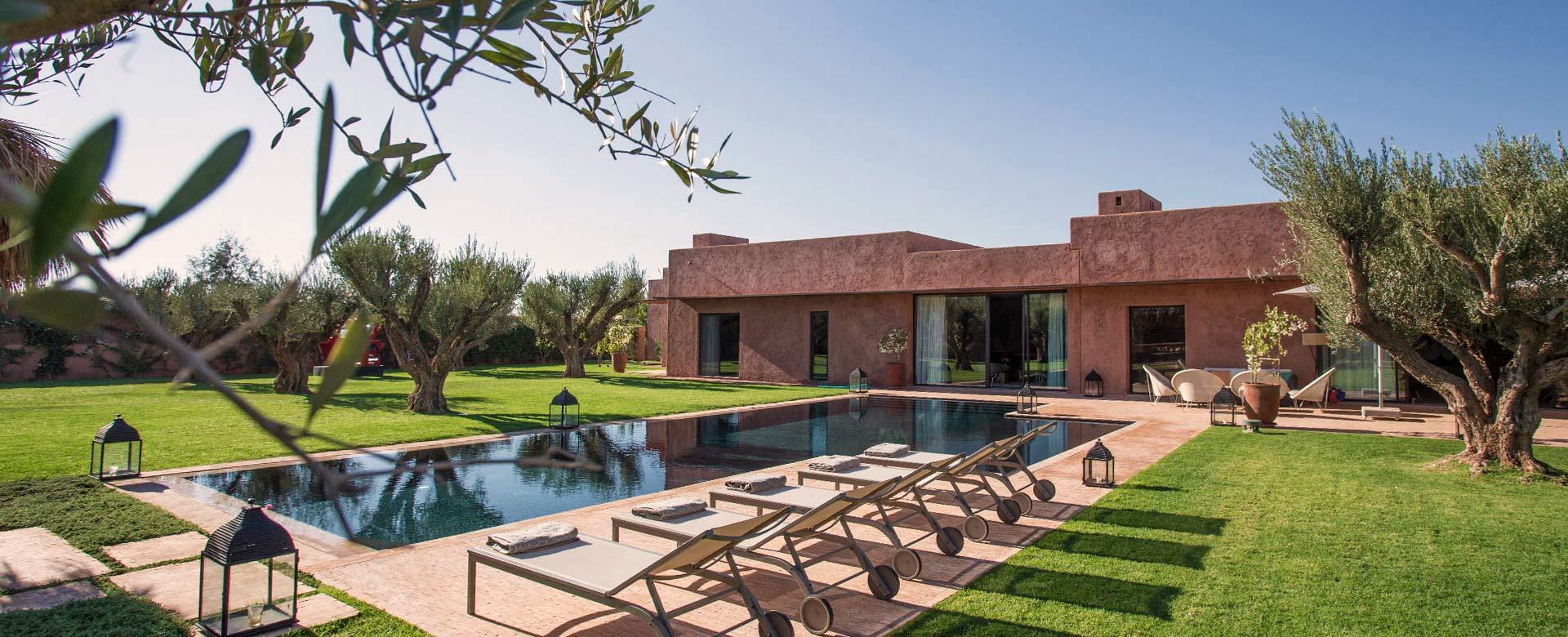 Affitto Villa Marrakech Villa Vacanze Marrakech Villa di Lusso Marrakech  Villanovo