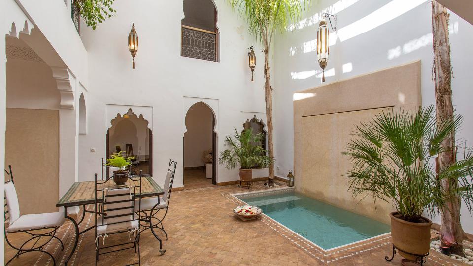 Luxury Villa Riad Rentals In Marrakech Villanovo