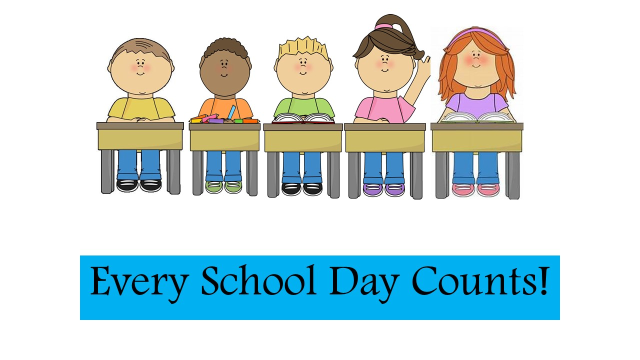 hight resolution of every school day counts letter