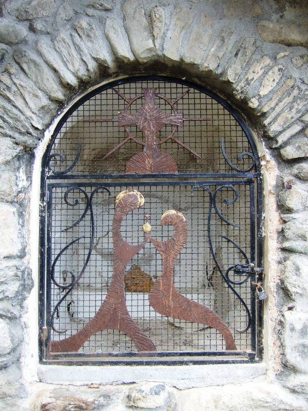 Oratoire Fromentieres interieur
