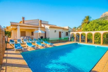 location villa piscine calpe 14