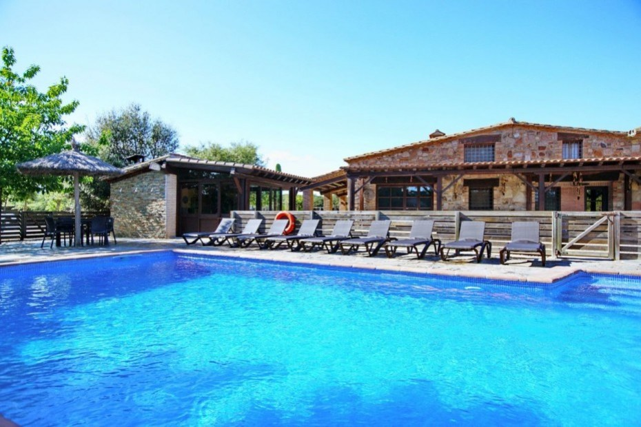 Casa rural Costa Brava a prop de Barcelona 5 habitacions - Villa Paller Mas Estrada Riudarenes