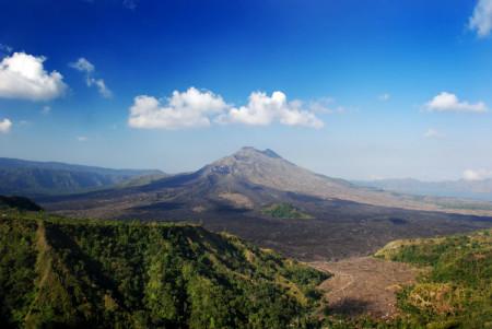 De vulkaan Batur