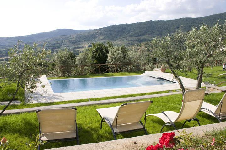 Villa per vacanze a Cortona  ville con piscina toscana casa vacanza toscana Villa Santa Maria