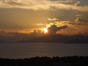 From the Terrace - the End of Another Beautiful Day