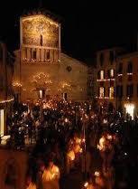 settembre lucchese processione e luminaria
