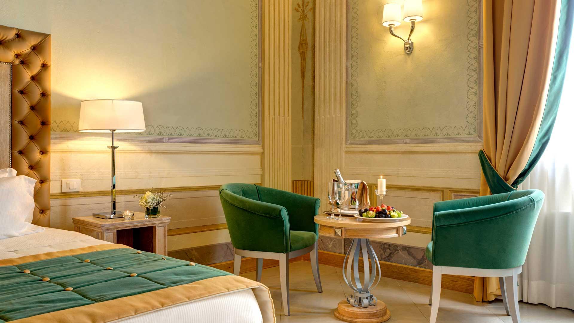 Camere & Suite - Villa Tolomei Hotel & Resort 5 stelle