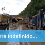 Cierre indefinido con pronostico reservado en la vía Bogotá Villavicencio
