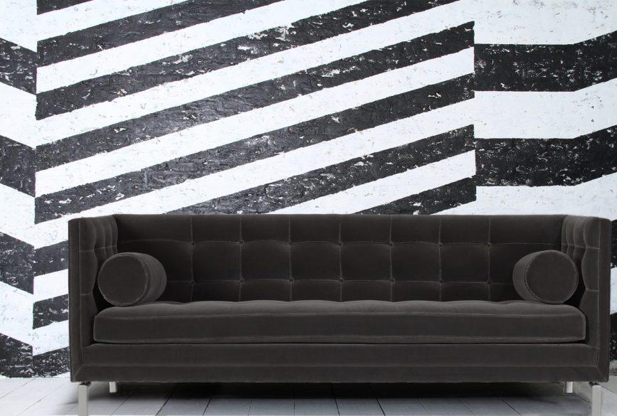 VILLDIS modelo Gastón colección Contemporary tapizado en terciopelo