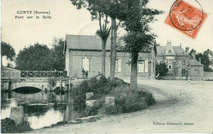 Le pont sur la Selle