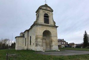 L'église Saint-Vaast à Wailly