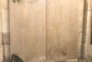 Plaque à léglise Saint-Vaast de Wailly