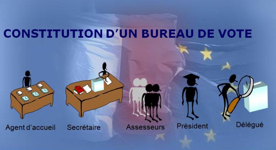 la constitution des bureaux de vote