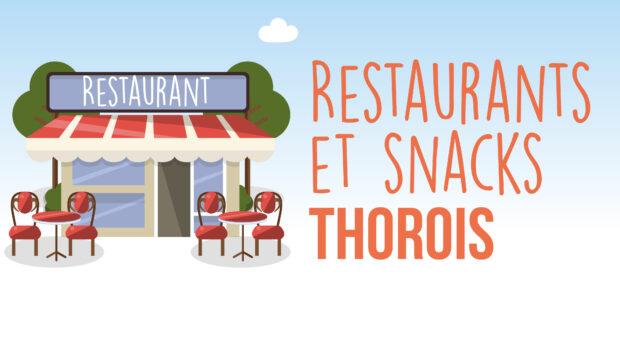 restaurants et snacks au thor