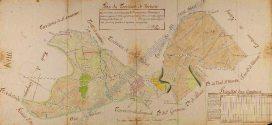 Plan intendance de Verberie 1783