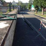 Barrière rue des Remparts