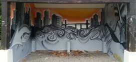 Les abribus relookés grâce au talent d'un graffeur