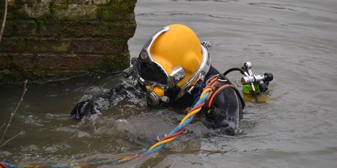 Le port de Verberie : un plongeur dresse l'état des lieux