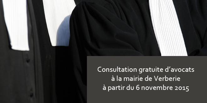 Nouveau service pour les habitants : la consultation gratuite d'avocats
