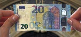 Le nouveau billet de 20 euros bientôt en service !