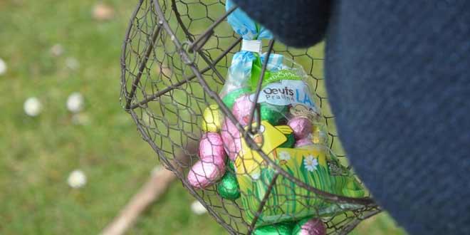 Que de monde pour la chasse aux œufs !