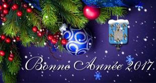 Vive la nouvelle année ! Tous nos vœux !