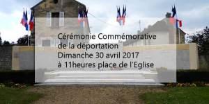 Cérémonie commémorative de la déportation @ Monument aux morts Place de l'Eglise | Verberie | Hauts-de-France | France