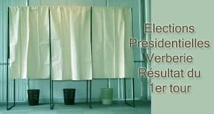 Résultats des élections du 1er tour des présidentielles à Verberie