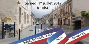 Inauguration rue de la République @ Verberie | Verberie | Hauts-de-France | France