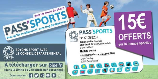 Préparez votre rentrée sportive à l'aide du Pass Sports du Conseil Départemental de l'Oise