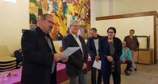 Départ en retraite de Yolande Beauvois et médaille pour Bruno Quéval