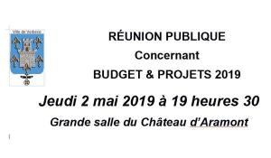 Réunion publique @ Château d'Aramont - Verberie
