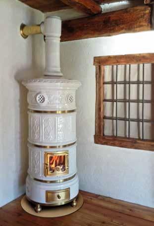 Stufe antiche il calore decorato  VilleCasali